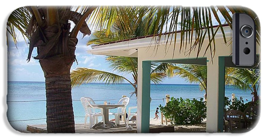 Beach IPhone 6 Case featuring the photograph Beach In Grand Turk by Debbi Granruth