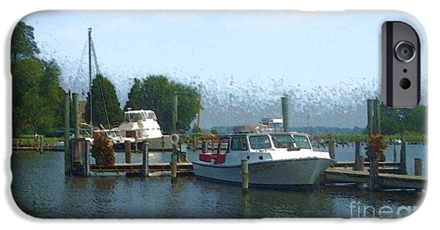 Boat IPhone 6 Case featuring the photograph Beached Buoys by Debbi Granruth