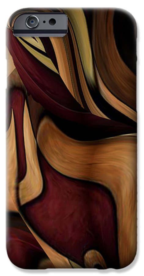 Beauty Queen IPhone 6 Case featuring the painting Beauty Queen by Jill English