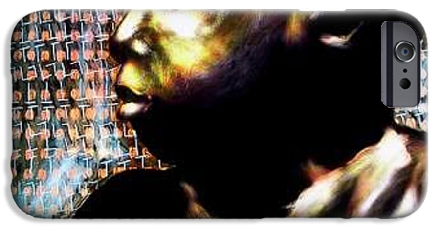 Portrait IPhone 6 Case featuring the mixed media Big Baby Boy by Chester Elmore