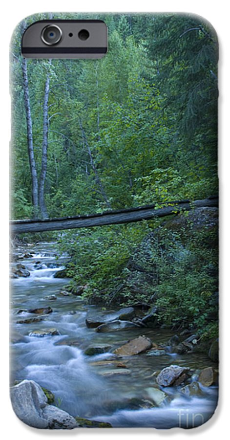 Creek IPhone 6 Case featuring the photograph Big Creek Bridge by Idaho Scenic Images Linda Lantzy
