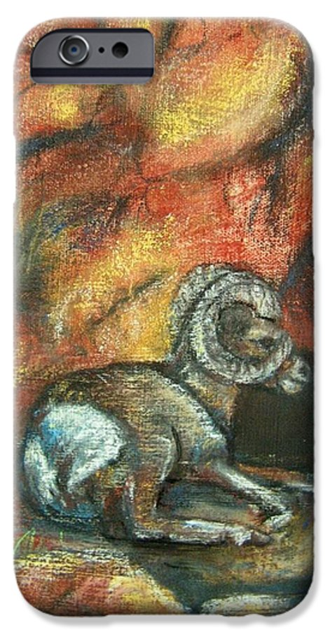 Wildlife IPhone 6 Case featuring the painting Bighorn by Darla Joy Johnson