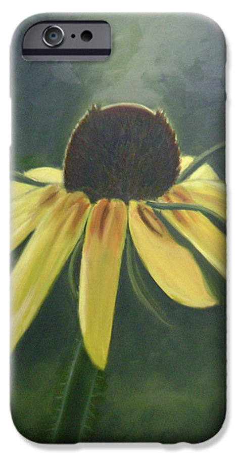 Flower IPhone 6 Case featuring the painting Black Eyed Susan by Toni Berry