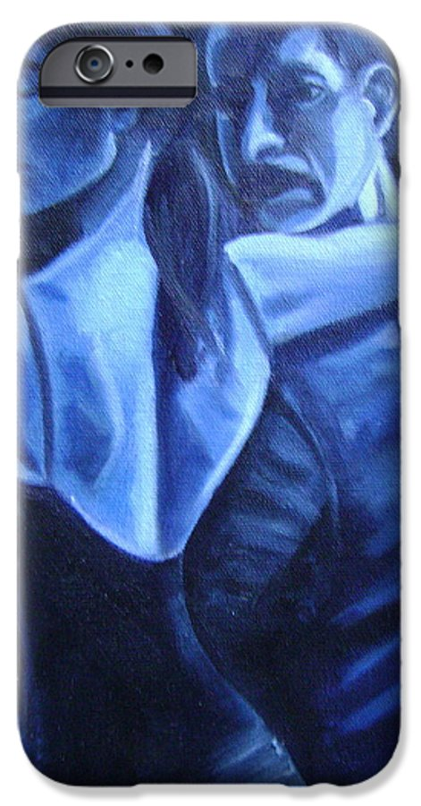 IPhone 6 Case featuring the painting Bludance by Toni Berry