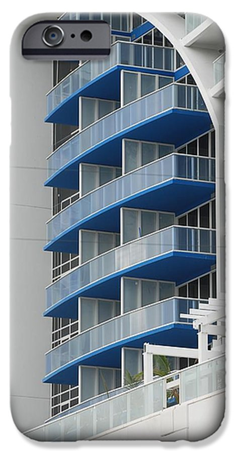 Architecture IPhone 6 Case featuring the photograph Blue Bayu by Rob Hans