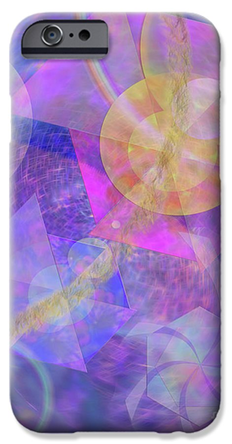 Blue Expectations IPhone 6 Case featuring the digital art Blue Expectations by John Beck