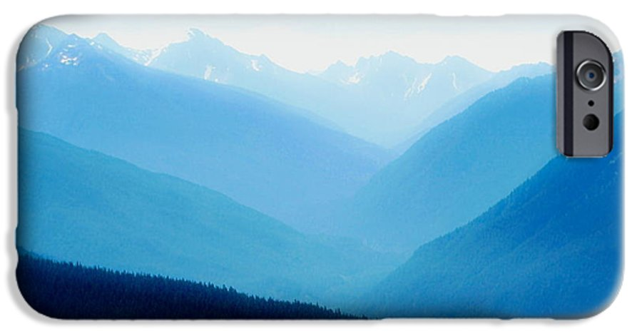 Infinity IPhone 6 Case featuring the photograph Blue Infinity by Idaho Scenic Images Linda Lantzy