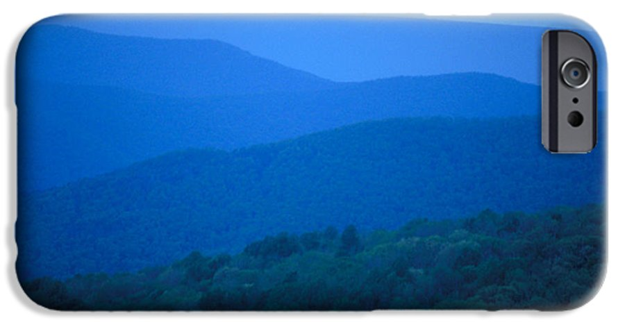 Mountains IPhone 6 Case featuring the photograph Blue Ridge Mountains by Carl Purcell