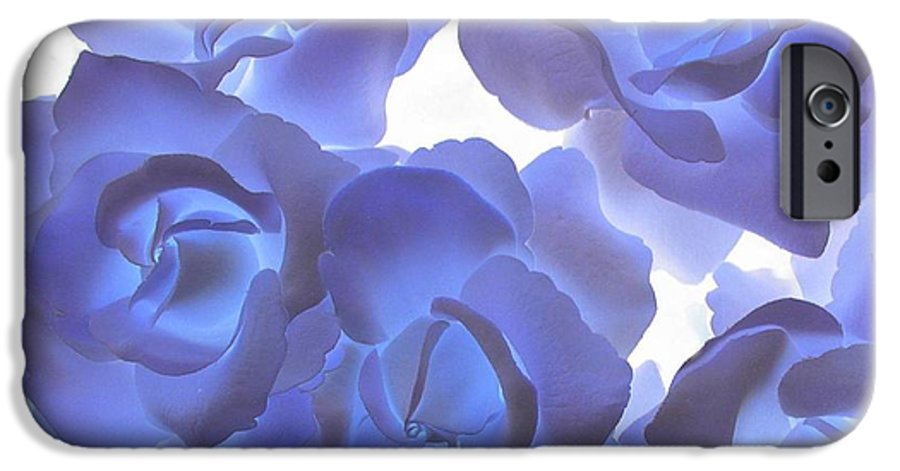 Blue IPhone 6 Case featuring the photograph Blue Roses by Tom Reynen