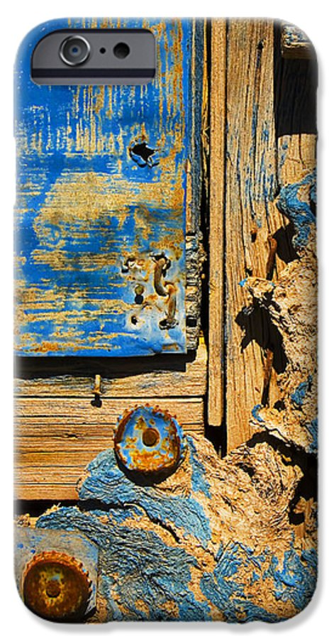 Abstract IPhone 6 Case featuring the photograph Blues Dues by Skip Hunt
