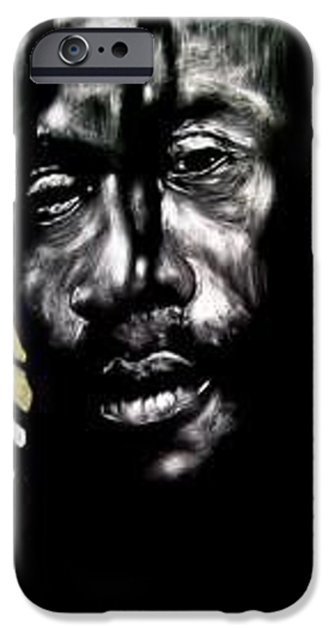 Portrait IPhone 6 Case featuring the mixed media Bob Na I by Chester Elmore