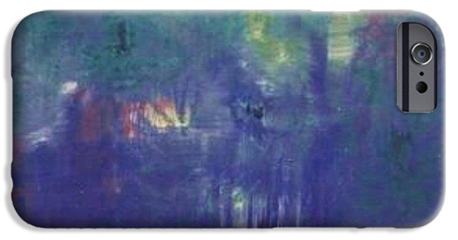Park IPhone 6 Case featuring the painting Bois De Boulogne by Michael Puya