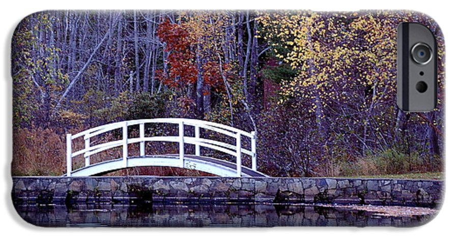 Bridge IPhone 6 Case featuring the photograph Bridge To Serenity by Faith Harron Boudreau