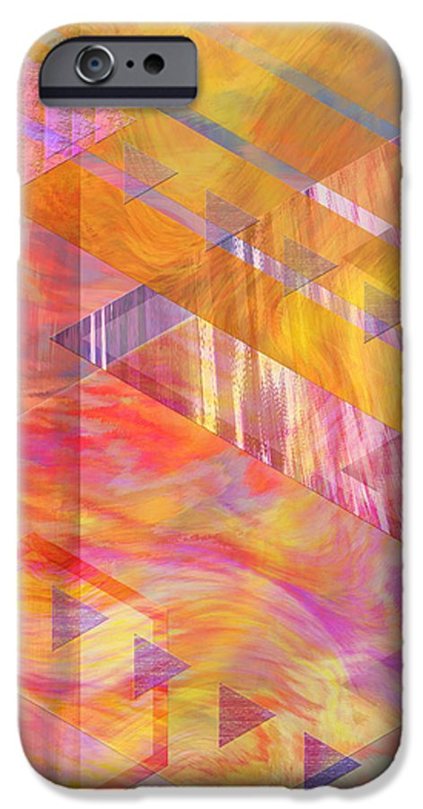 Affordable Art IPhone 6 Case featuring the digital art Bright Dawn by John Beck
