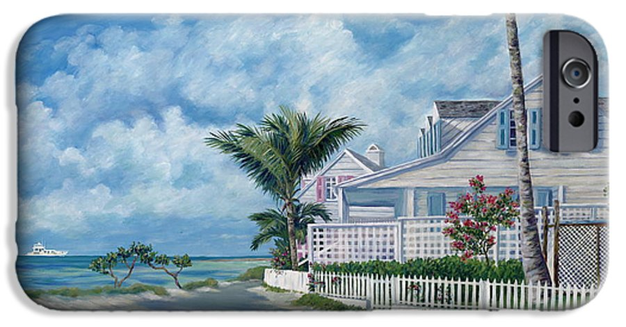 Harbor Island IPhone 6 Case featuring the painting Briland Breeze by Danielle Perry