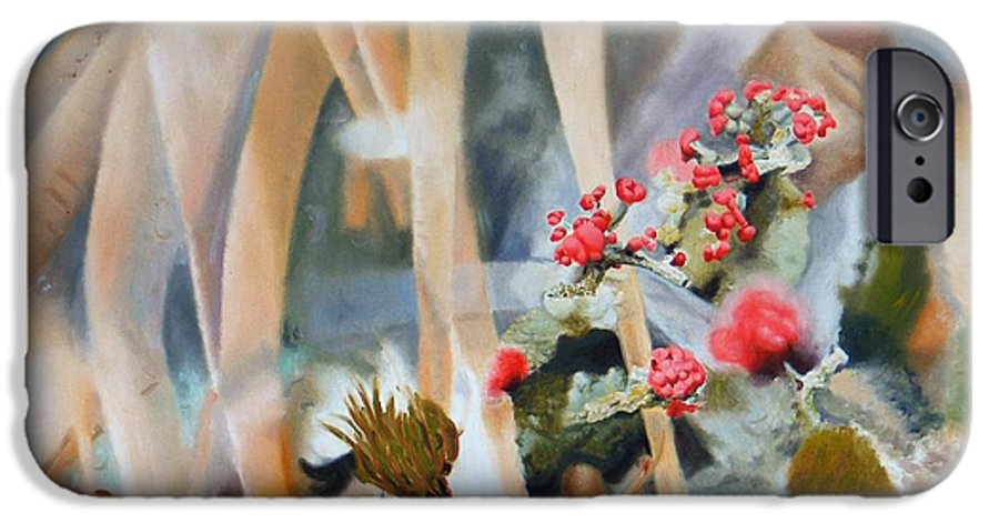 Nature IPhone 6 Case featuring the painting British Soldiers by Dave Martsolf
