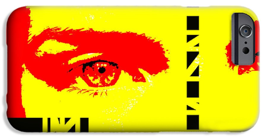 Eyes IPhone 6 Case featuring the photograph Broken by Amanda Barcon