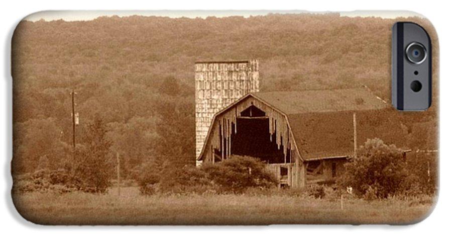Barn IPhone 6 Case featuring the photograph Broken by Rhonda Barrett