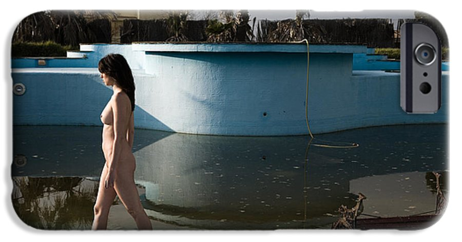 Nudes IPhone 6 Case featuring the photograph By The Old Pool by Olivier De Rycke