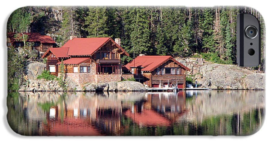Cabin IPhone 6 Case featuring the photograph Cabin by Amanda Barcon