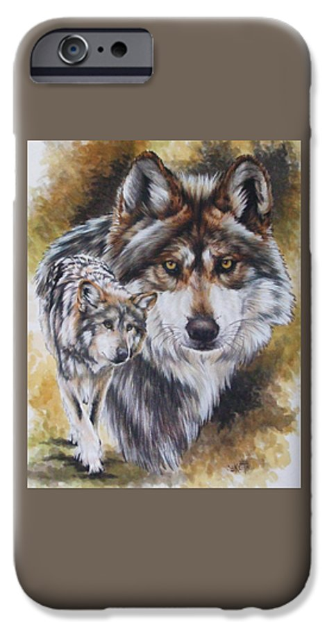 Wildlife IPhone 6 Case featuring the mixed media Callidity by Barbara Keith