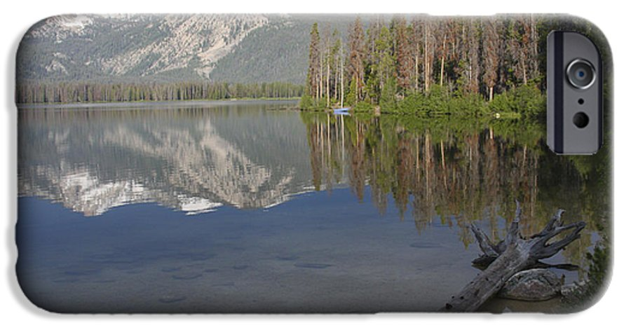 Stanley Lake IPhone 6 Case featuring the photograph Calm Before The Storm by Idaho Scenic Images Linda Lantzy