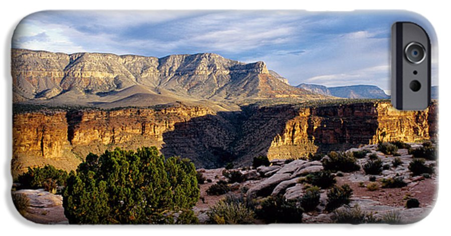 Toroweap IPhone 6 Case featuring the photograph Canyon Walls At Toroweap by Kathy McClure