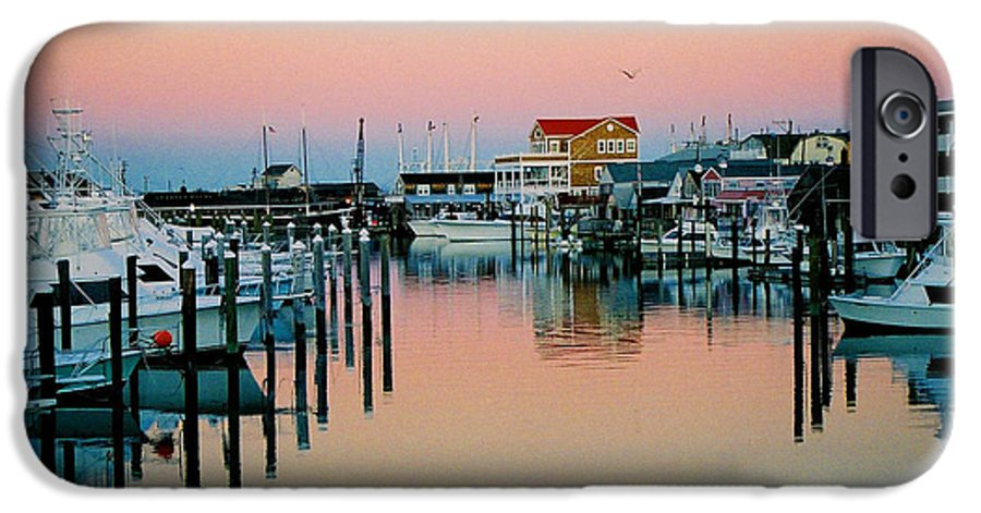 Cape May IPhone 6 Case featuring the photograph Cape May After Glow by Steve Karol