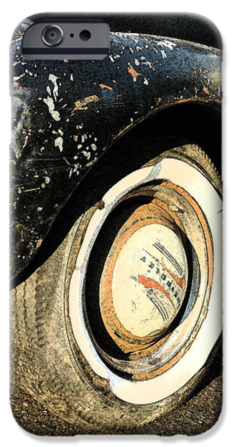 Car IPhone 6 Case featuring the photograph Car Alfresco II by Kathy Schumann