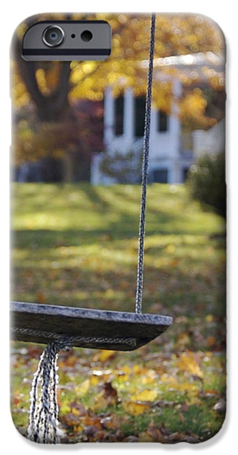 Swing IPhone 6 Case featuring the photograph Carefree by Faith Harron Boudreau