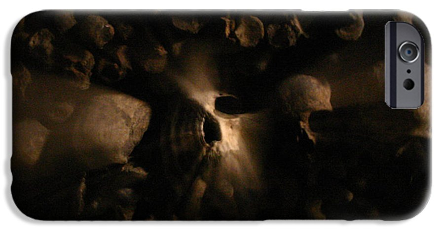 IPhone 6 Case featuring the photograph Catacombs - Paria France 3 by Jennifer McDuffie
