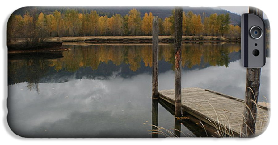 Cataldo IPhone 6 Case featuring the photograph Cataldo Reflections by Idaho Scenic Images Linda Lantzy