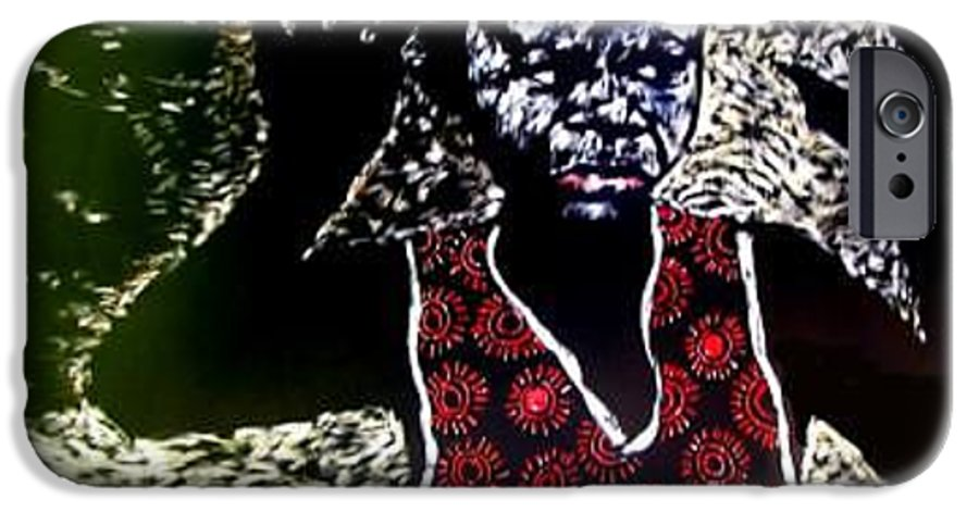 Children IPhone 6 Case featuring the mixed media Catching Some Sunshine by Chester Elmore