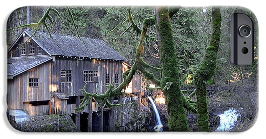 Landscape IPhone 6 Case featuring the photograph Cedar Creek Grist Mill by Larry Keahey