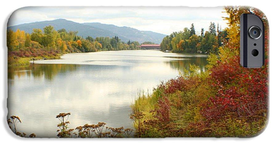 Cedar IPhone 6 Case featuring the photograph Cedar Street Bridge by Idaho Scenic Images Linda Lantzy
