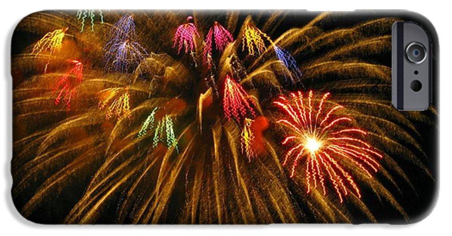 Fireworks IPhone 6 Case featuring the photograph Celebrate by Rhonda Barrett