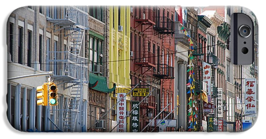 Architecture IPhone 6 Case featuring the photograph Chinatown Walk Ups by Rob Hans