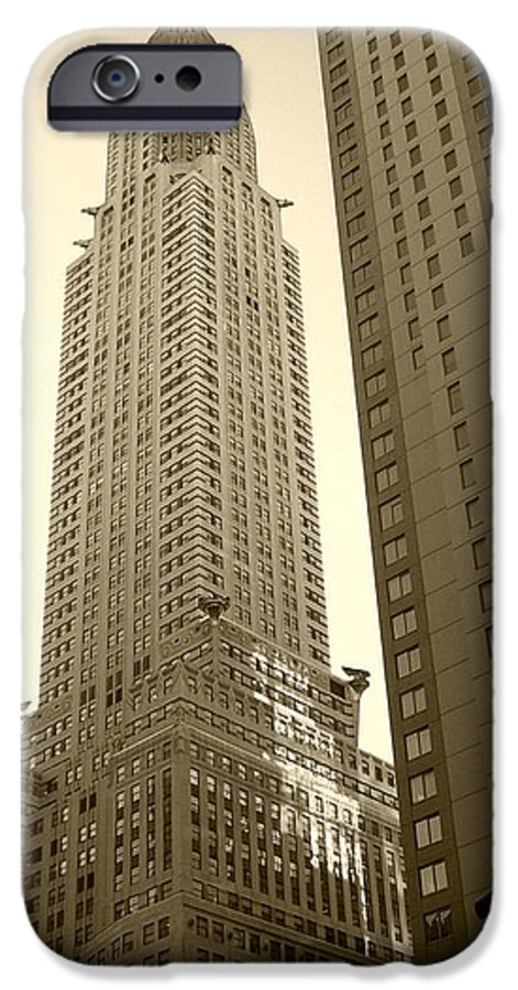 New York IPhone 6 Case featuring the photograph Chrysler Building by Debbi Granruth