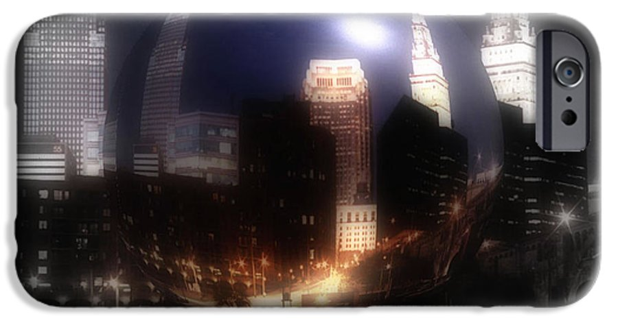 Cleveland IPhone 6 Case featuring the photograph City On The North Coast by Kenneth Krolikowski