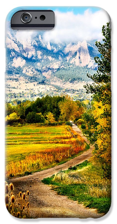 Americana IPhone 6 Case featuring the photograph Clearly Colorado by Marilyn Hunt
