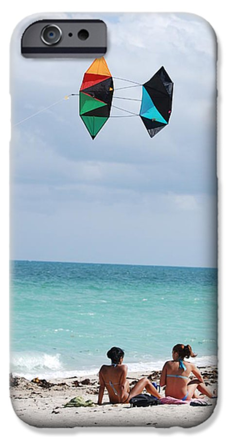 Sea Scape IPhone 6 Case featuring the photograph Close Encounters by Rob Hans