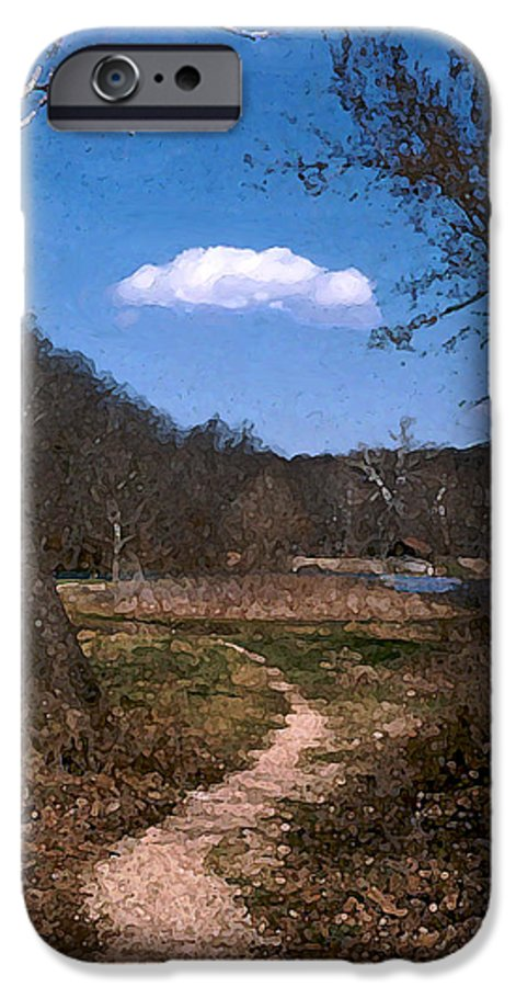Landscape IPhone 6 Case featuring the photograph Cloud Destination by Steve Karol