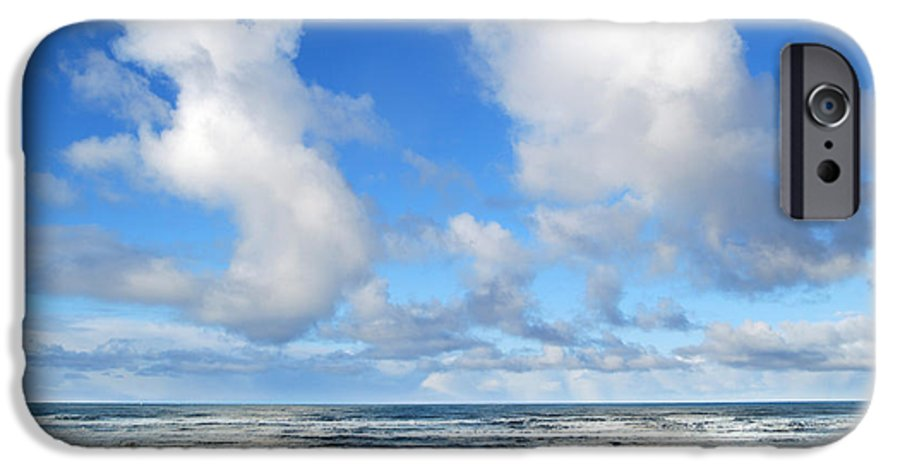 Ocean IPhone 6 Case featuring the photograph Clouds At Play by Larry Keahey