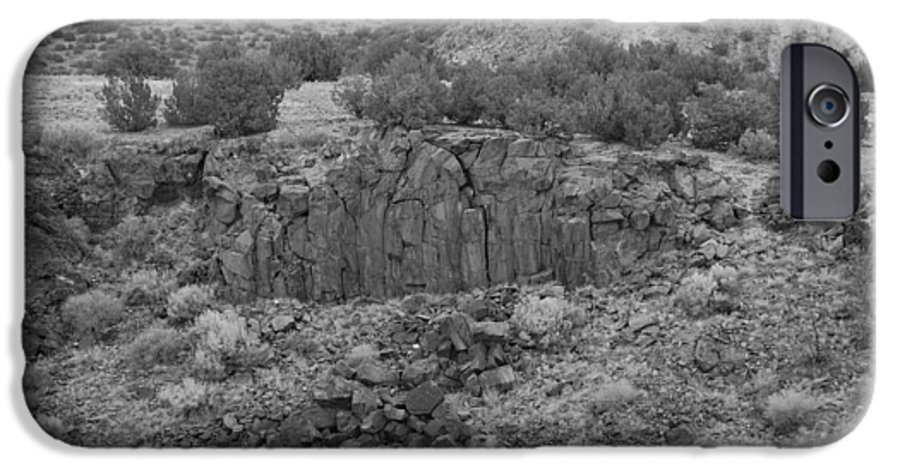 Rocks IPhone 6 Case featuring the photograph Cochiti Rocks by Rob Hans