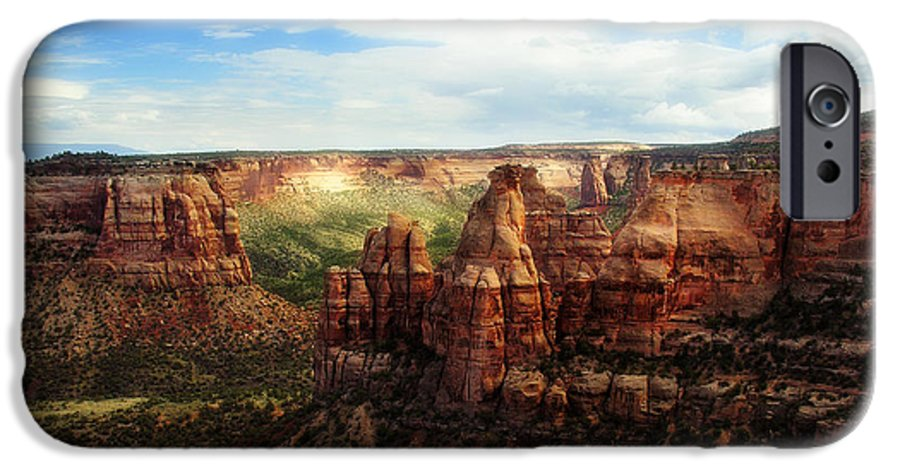 Americana IPhone 6 Case featuring the photograph Colorado National Monument by Marilyn Hunt