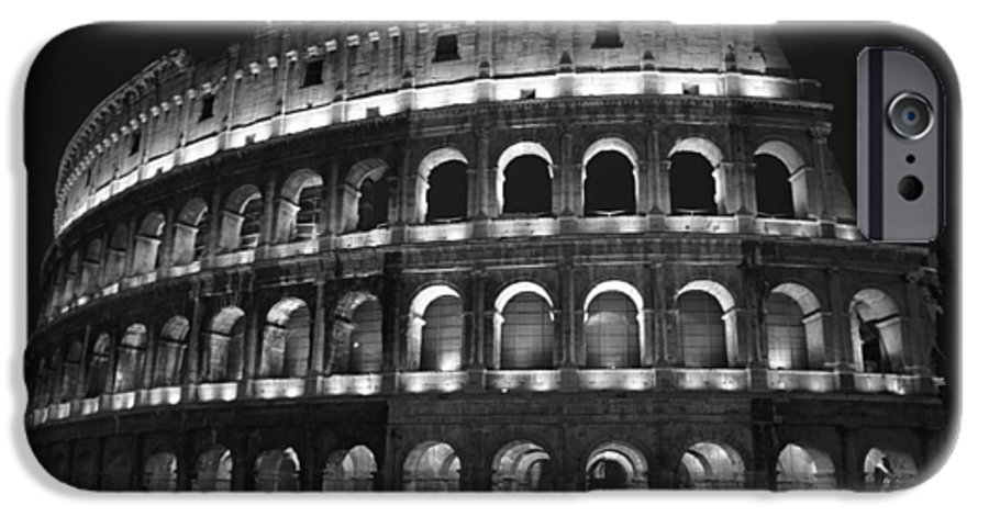 Italy IPhone 6 Case featuring the photograph Colosseum by Kathy Schumann