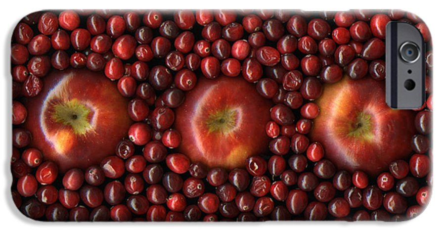 Slanec IPhone 6 Case featuring the photograph Cranapple by Christian Slanec
