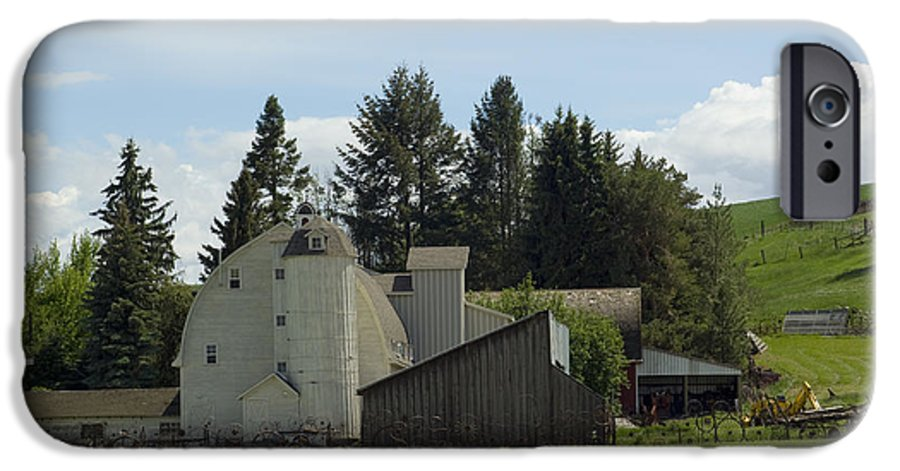 Barn IPhone 6 Case featuring the photograph Dahmen Barn Historical by Louise Magno