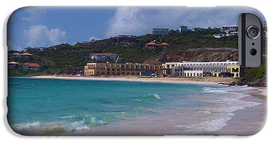 Dawn Beach IPhone 6 Case featuring the photograph Dawn Beach by Debbi Granruth