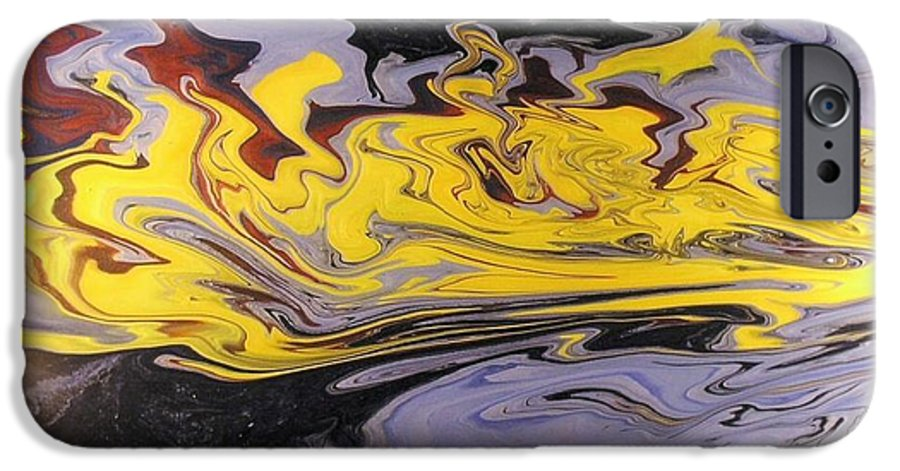 Acrylic IPhone 6 Case featuring the painting Dawn Light by Patrick Mock